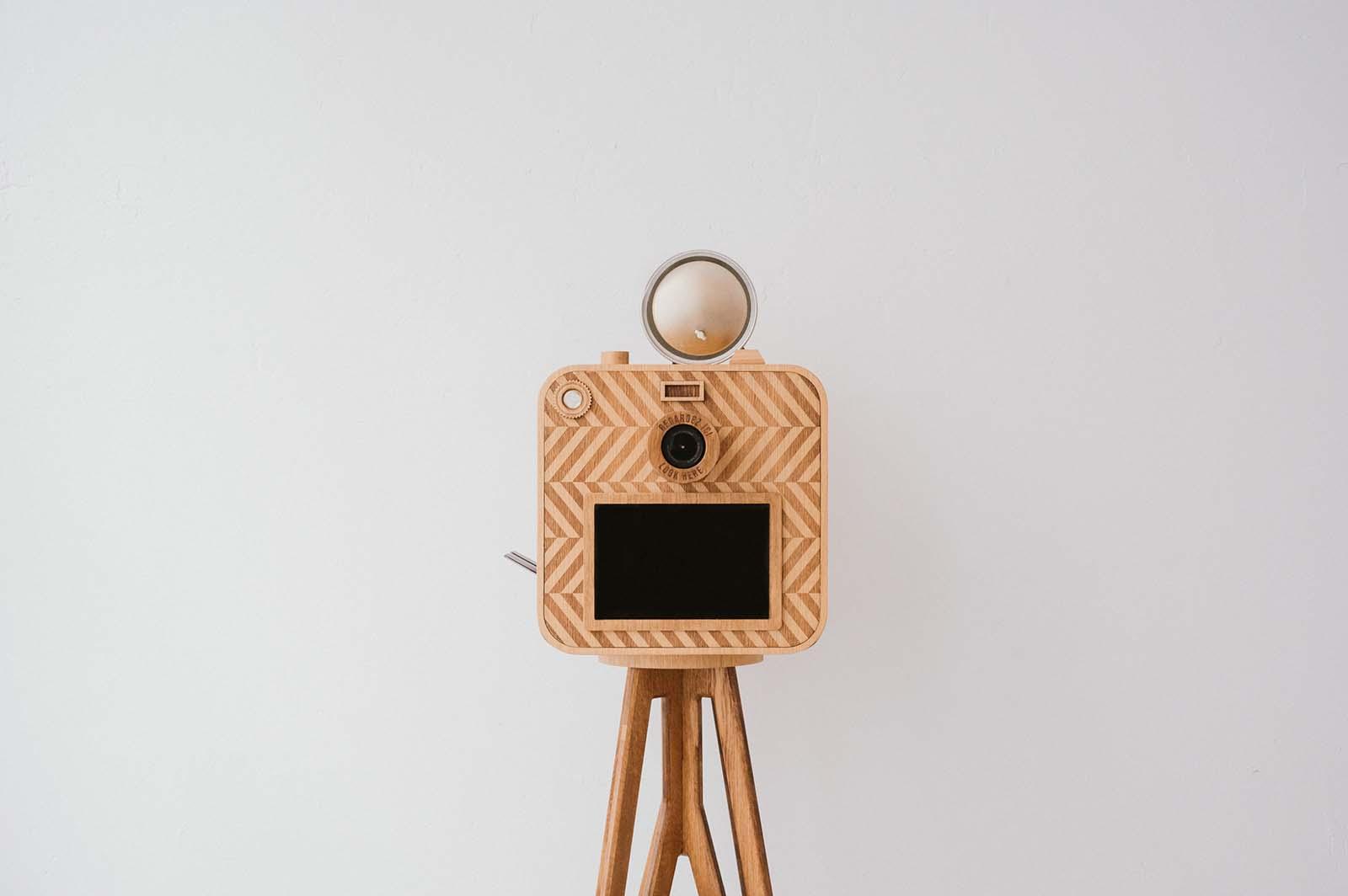photobooth bois écologique