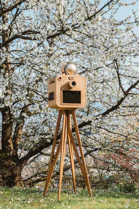 photobooth borne photo chambéry viviers du lac eden smile