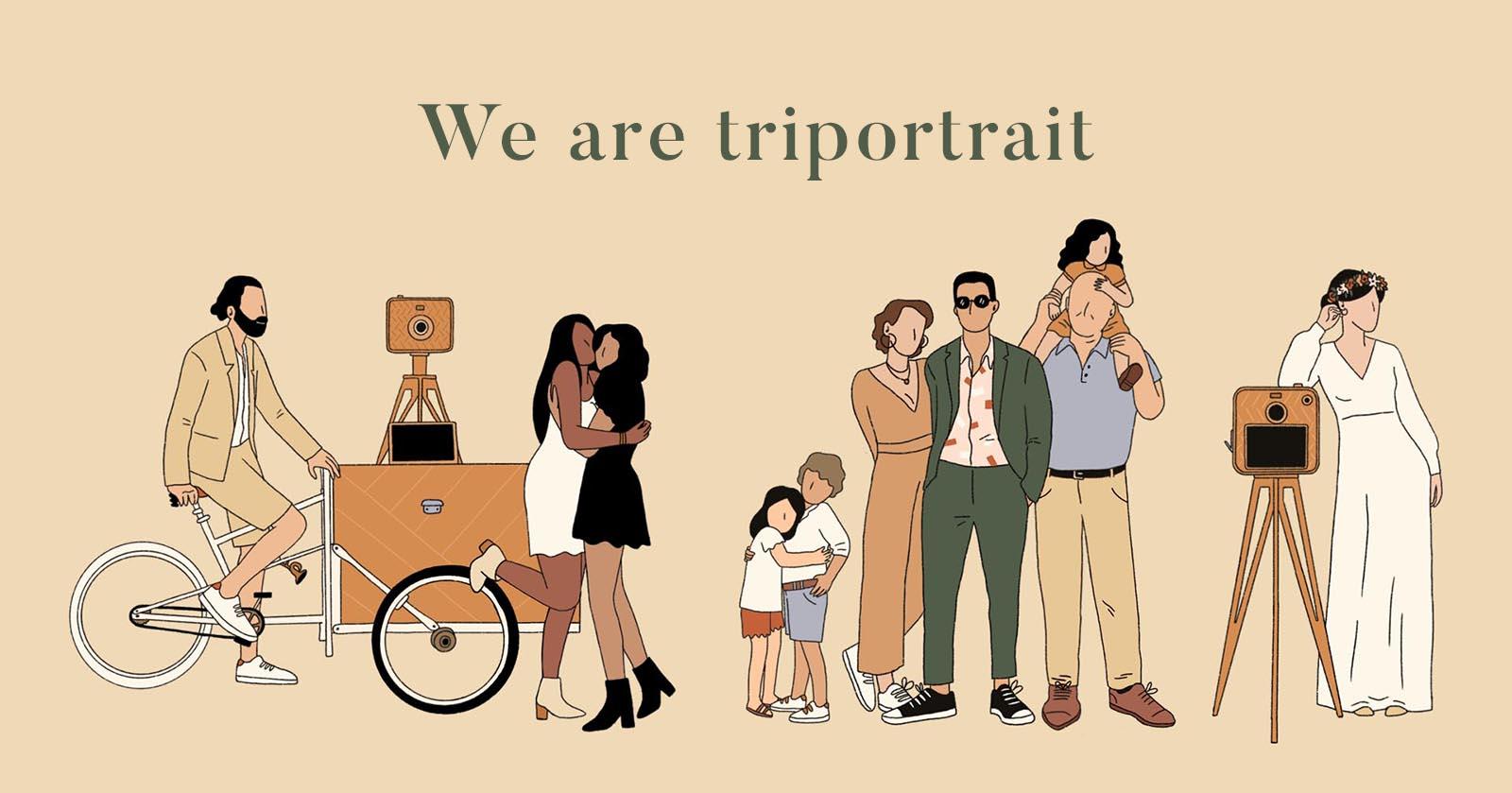 we are triportrait